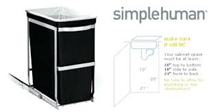 Kitchen Cabinet Trash Can Pull Out Trash Cans Locking Lid Garbage Can Locking Kitchen Trash Can