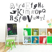 large alphabet stickers compare prices at nextag sweetums alphabet kid s 58 inch wide wall decal baby blu