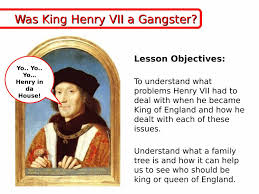 Queen Victoria Family Tree Worksheet Henry Vii King Of England Problems Ks3 Powerpoint Lesson Plan