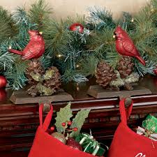 cardinal stocking holder set