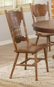 Oak Spindle Back Dining Chairs 19 Best Amish Pressback Chairs Images On Pinterest Amish Amish