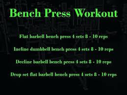Raw Bench Press Program Bench Press Workout Routine U2013 Amarillobrewing Co