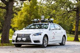 toyotas new car toyota u0027s new self driving car has two steering wheels to prevent