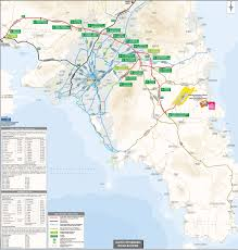 Athens Metro Map by Athens International Airport Eleftherios Venizelos Athens Greece