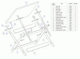 Drafting Table Plans Drawing Table Plans Home Design Ideas Home Design Within Amazing
