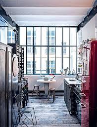 decoration industrielle vintage 10 inspirations pour une cuisine industrielle marie claire