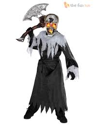 boys deluxe light up eye halloween costumes zombie kids childrens