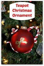teapot ornament teeny ideas