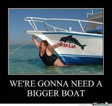 Nice Boat Meme - image result for you re going to need a bigger boat archy