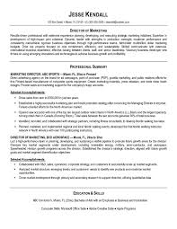 Sample Resume Promotion by Sample Resume Sales Marketing Manager