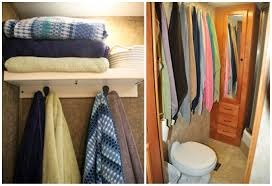 Clothes Storage Solutions by Calm The Clutter Rv Storage Solutions And Organization Go Rving