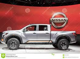 nissan truck titan 2017 detroit january 17 the 2017 nissan titan pickup truck at the