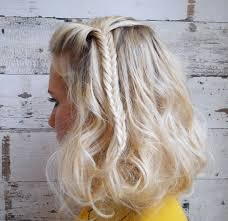 beach wave bob awesome howto beach wave faux bob with a fishtail braid career pic