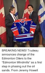 Edmonton Memes - reebok breaking news trudeau announces change of the edmonton