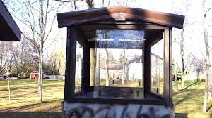 how to make a deer hunting stand on trailer with windows youtube