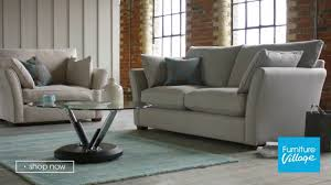 Furniture Village Armchairs Fabric Curved Arm Sofa Healey Furniture Village Youtube