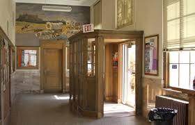 Entry Vestibule   file crawford nebraska post office entry vestibule jpg