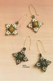219 best beading twin earrings images on pinterest beads