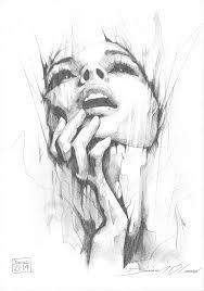 portrait pencil study