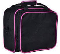 janome small sewing machine vinyl tote bag u2014 qvc com