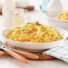 chou cuisine salade de chou crémeuse recettes cuisine et nutrition pratico