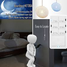 in wall timer switch enerlites fan switch timer countdown timer