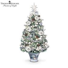 thomas kinkade illuminated winter tree thomas kinkade u0027winter