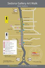 Map Of Sedona Arizona by Sedona Gallery Art Walk See Sedona U0027s Top Galleries By Foot