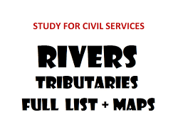 India River Map by River Of India Tributaries Full Summary For All Exams Youtube