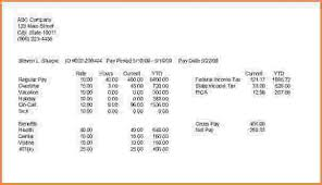 4 how to make a fake pay stub simple salary slip