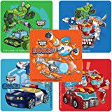 transformer rescue bots party supplies transformers rescue bots stickers birthday and theme