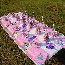 sofia the party supplies princess sofia the theme kids birthday party decoration set