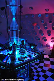 dr who bedroom a bedroom fit for a time lord dr who fan spends 980 building a