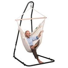 the mediterraneo metal hanging chair stand westmount living