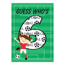 girls soccer birthday invitations u0026 announcements zazzle co nz