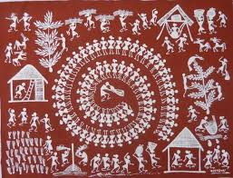 Warli Art Simple Designs 106 Best Art Warli A Tribal Art Of India Images On Pinterest