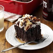 German Chocolate Tres Leches Cake Recipe Taste Of Home