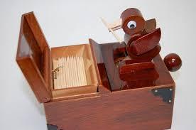 bird toothpick dispenser tooth pick pecker gimmicktooth pickgiftwood crafttable ware bird