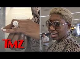 Wendy Williams Wedding Ring by Nene Leakes Insurance On Her Huge Diamond Ring Tmz Youtube