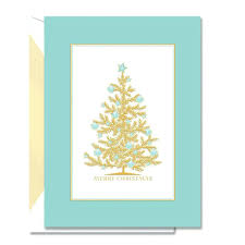 boxed christmas cards sale boxed cards sale engraved seashell tree greeting crane