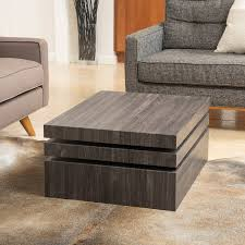 Carson Coffee Table Christopher Home Carson Rotating Wood Coffee