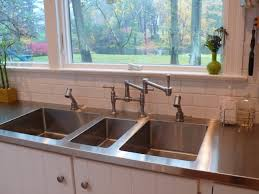 Stainless Kitchen Sinks by Stainless Steel Countertops Sinks Cabinets Custom Made By