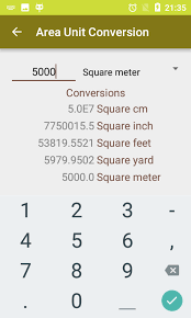 Total Square Footage Calculator Land Area Calculator With Area Unit Converter Android Apps On