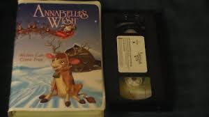 annabelle s wish dvd opening to annabelle s wish 1997 vhs