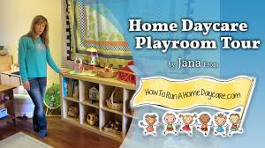 Day Care Center Floor Plan How To Run A Home Daycare Playroom Tour Starting A Home Daycare