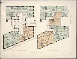 Apartment Building Floor Plans by 10 Elaborate Floor Plans From Pre World War I New York City
