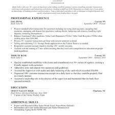 teller sample resume best images about career resume banking on