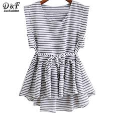 black and white striped blouse brand clothing china black and white striped tops pleated