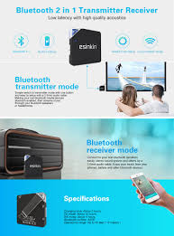 30 Meters To Feet Amazon Com Esinkin Bluetooth Transmitter Receiver 2 In 1 Wireless