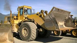 caterpillar 988 b wheel loader youtube